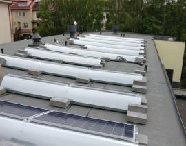 Elektrownia słoneczna na dachu Ciepłowni