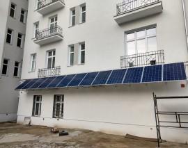 3,57 kWp na bloku mieszkalnym